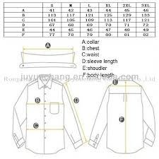 mens dress shirt chart mens clothing sizes beauty clothes jared