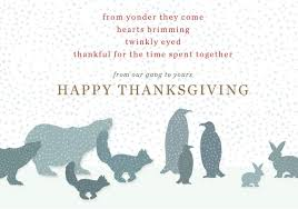 happy thanksgiving from anthropologie marketing