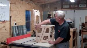 Free Wooden Folding Step Stool Plans by Chair Step Ladder Youtube