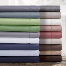 Egyptian Cotton Percale Sheets Bedroom Thread Count Sheets Sheet Sets Queen 1000 Thread