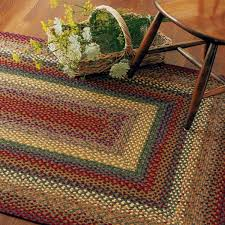 buy neverland multi color cotton braided rugs online homespice