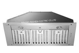 range hood exhaust fan inserts stainless steel vent hood insert commerica remote control range hood