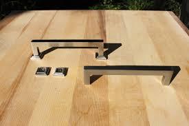 Designer Kitchen Cabinet Hardware Mid Century Knob Satin Copper Kitchen Handleskitchen Hardwarebrass