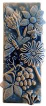 best 25 ceramic wall tiles ideas on pinterest wall tile botanical and bugs ceramic tile in night sky by beth sherman ceramic wall art