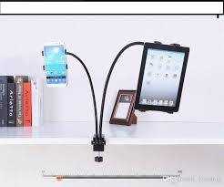 2017 flexible gooseneck tablet desk mount holder with phone holder