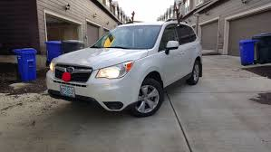 tan subaru forester top modded 2014 subaru forester rides wheelwell