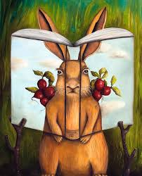 the rabbit book the book of secrets 4 the rabbit story painting by saulnier