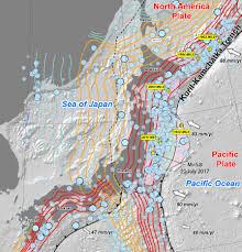 Earthquake World Map by Usgs Japan Fault Map Earthquake Map U2013 Temblor Net