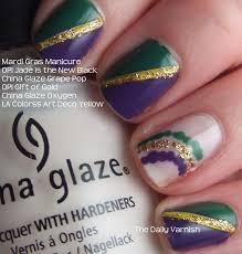 mardi gras nail mardi gras nail designs trend manicure ideas 2017 in pictures