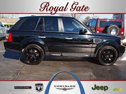 jeep range rover black 2007 java black pearl land rover range rover sport hse 59478413