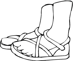 summer shoes coloring page picture skat bebo pandco