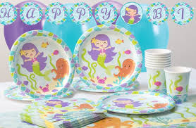 Mermaid Decorations For Party Mermaid Party Party Supplies Party Pieces