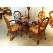 South Sea Rattan Furniture Dining Sets WickerRattan Dining - Rattan dining room set