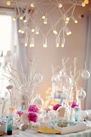 stunning christmas party decorations for interior dining room with
