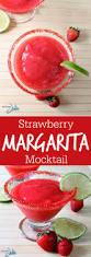 raspberry margarita recipe strawberry margarita mocktail sober julie