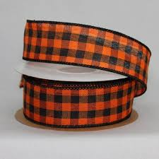 and black plaid ribbon ribbon package bows