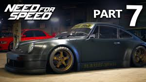 rwb porsche background need for speed 2015 gameplay walkthrough part 7 nakai san u0027s rwb