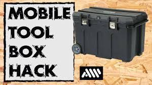 black friday tool chest stanley mobile job box hack youtube