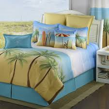 Beachy Bed Sets Palm Coast Tropcical Comforter Bed Set Beachy Sets Delectably