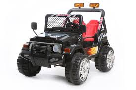 electric 4x4 vehicle black 2 seater 4x4 truck 12v kids u0027 electric ride on car