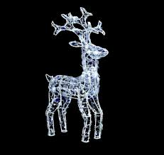 Outdoor Reindeer Christmas Decorations by Uk G Indoor Outdoor 68cm Jewelled Led Reindeer Christmas Light Up