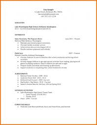 high student resume objective sles resume objectives resumes for students in college exles general