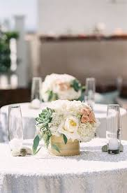 Beach Centerpieces For Wedding Reception by Blush Mint Coastal Beach Wedding Wedding Reception