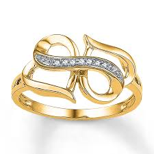 gold metal rings images Heart infinity ring diamond accents 10k yellow gold 2329770299 kay jpg