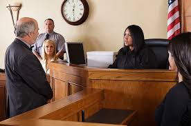 A Bench Trial Is Heard By Justice Courtroom Av Equipment