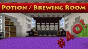 Minecraft Brewing Room Design