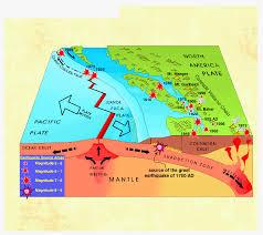 Earthquake Map Oregon by North American Plate Crisisboom