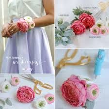 how to make wrist corsage gala accessories charming diy wrist corsages