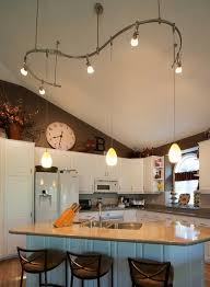 Lighting For Sloped Ceilings Kitchen Lighting Vaulted Ceiling Creative Lighting Pendants And