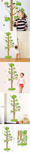 pinterest teki 25 den fazla en iyi kids height chart fikri 9176 cute panda on tree wall stickers cartoon kids height chart wall stickers height measure wall decals home decor wall paper