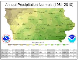 Map Of Des Moines Iowa Iowa Climate Normals Maps