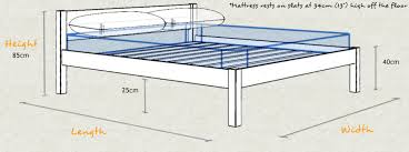 Height Of Bed Frame White Bed Get Laid Beds