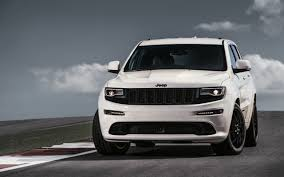 gray jeep 2017 2017 jeep grand cherokee srt wallpaper hd car wallpapers
