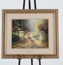 home interiors thomas kinkade prints thomas kinkade framed lithograph