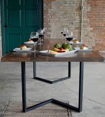 dining tables galvanized pipe table legs steel pipe table