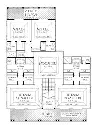 one story floor plans with two master suites home design plan a bedroom house plans with two master suites