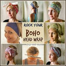 boho hair wraps how to tie your boho wrap co