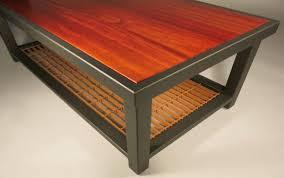 Custom Coffee Table by Custom Table Design By Terrasteel Made In Bend Or Terrasteel