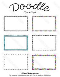 free doodle name 83 best name tags images on tags cards and free printable