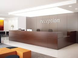 Modular Reception Desks Ashford Reception Desk In Beech