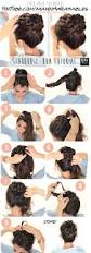 easy hairstyles for wavy medium length hair 20 easy no heat summer hairstyle tutorials for long hair gurl com
