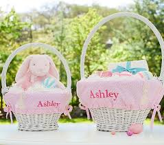 personalized easter basket liners toddler easter basket up with string