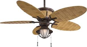 Patio Ceiling Fans With Lights by Minka Aire F580 Vr Bb Shangri La Vintage Rust 52 Inch Outdoor