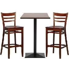 wooden high bar table dark wood bar table high bar stools set nightclub bar