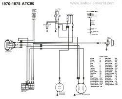 04 Honda Civic Ac Wiring Harness Diagram 3wheeler World Honda Atc Wiring Diagrams