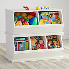 Childrens Storage Ottoman Kids Toy Boxes The Land Of Nod